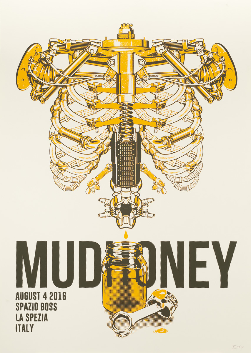 Mudhoney 2016 Genova