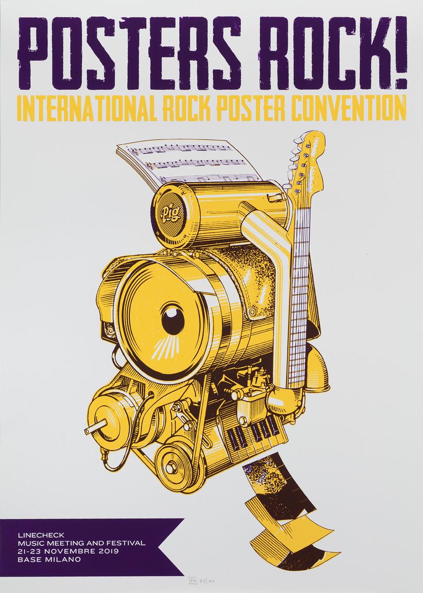 Posters Rock 2019 Milan