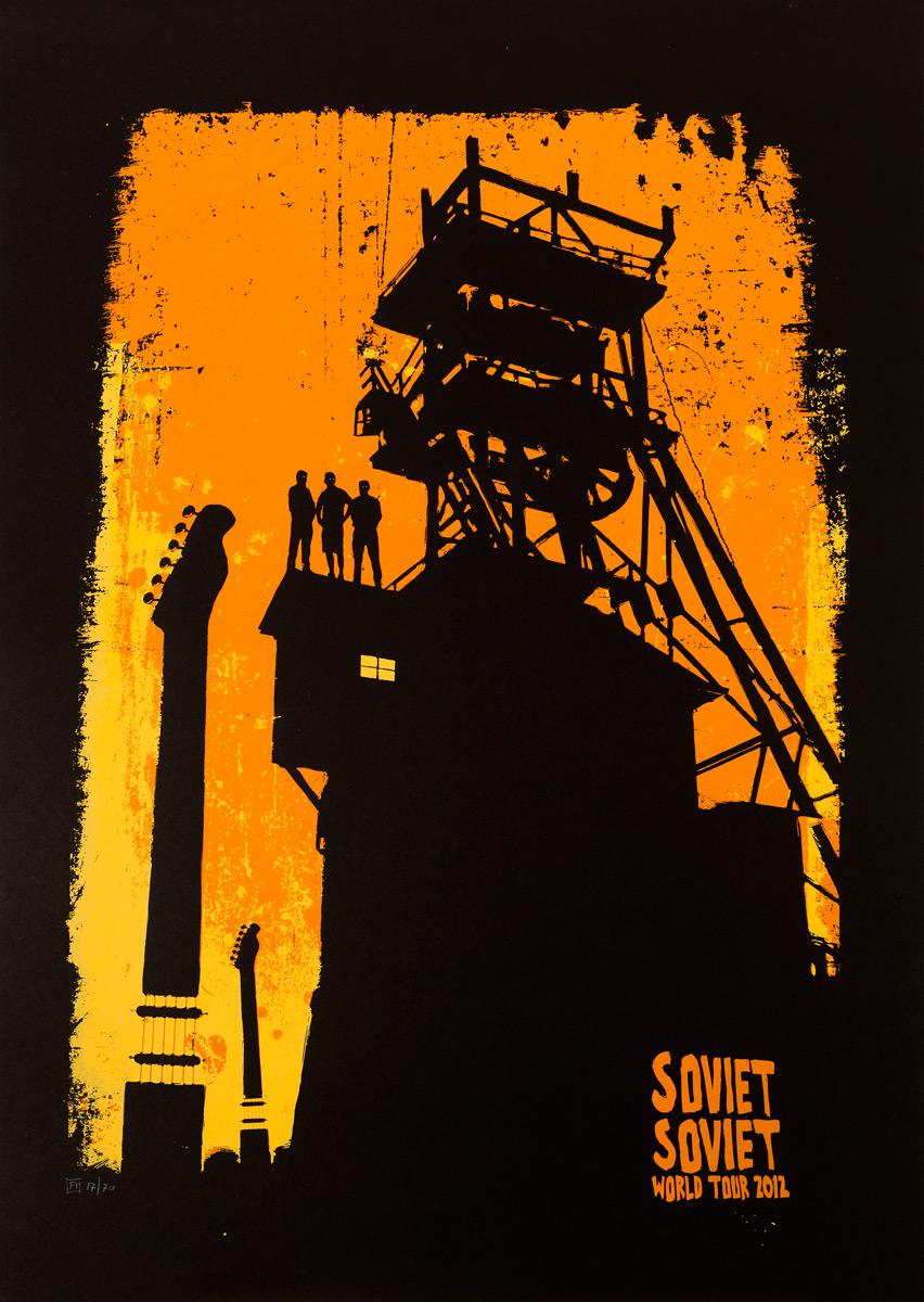 Soviet Soviet tour 2012